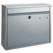 Hochhaus II Mail Box Silver T02893