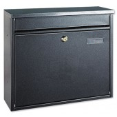 Hochhaus II Mail Box Black T02804