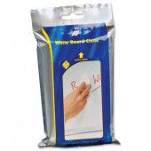 AF White Board-Clene Wipes Pk25 AWBW025P