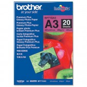 Brother Glossy Paper A3 PK20 BP71GA3