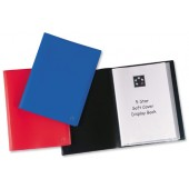 5 Star Soft Cover Disp Bk 10 Pkt Blue