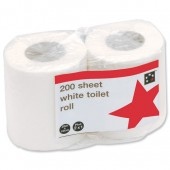 5 Star Toilet Tissue Wht200Sh Twins Pk36