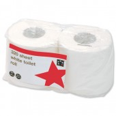 5 Star Toilet Tissue Wht320Sh Twins Pk36