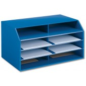 5 Star Premier Document Sorter Blue