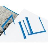 5 Star E-Clip Polypropylene Blue Pk10