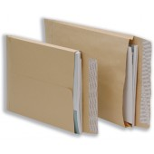 5 Star Envelopes Peel and Seal Gusset 25mm 115gsm Manilla 406x305mm [Pack 125]