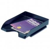 5 Star Office Letter Tray Black