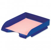5 Star Office Letter Tray Blue