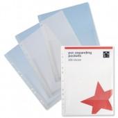 5 Star Premier PVC Expanding Pkt Pk10