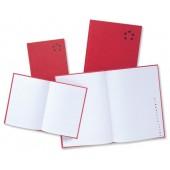 5 Star Manuscript Book Casebound 70gsm Ruled 192 Pages A4 [Pack 5]