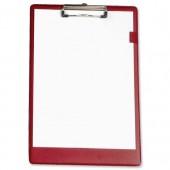 5 Star Standard Clipboard F/Scap Red