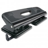 5 Star 4Hole 16Sheet Punch Metal Black