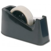 5 Star Desk Tape Dispenser Black
