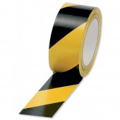 Hazard Tape Black/Ylw 922358