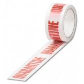 Quarantine Tape Wht/Rd 922412