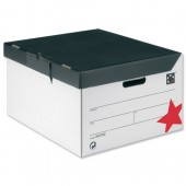 5 Star Office Trunk Oyster/Black Pk/10