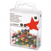 5 Star Map Pins 5mm Hd Ast Pk100 925087
