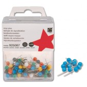 5 Star Map Pins 5mm Blue Pk100 925109