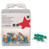 5 Star Map Pins 5mm Grn Pk100 925097