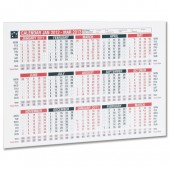 5 Star 2012 A4 Wall/Desk Calendar