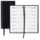 5 Star 2013 2 Wks/View Slim Diary Black