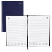 5 Star 2013 A4 Day to Page Diary Blue