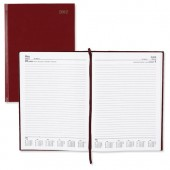 5 Star 2013 A4 Day to Page Diary Red