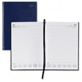 5 Star 2013 A5 Day to Page Diary Blue