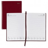 5 Star 2013 A5 Day To Page Diary Red