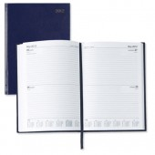 5 Star 2013 A5 2 Day To Page Diary Blu