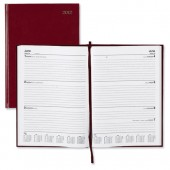 5 Star 2013 A4 Week To View Diary Red