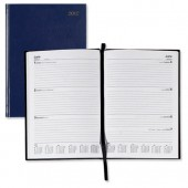 5 Star 2013 A5 Week To View diary Blue