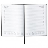 5 Star 2013 A4 Day/Pge Appoint Diary Blk