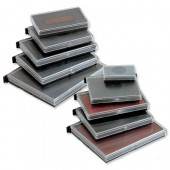 &Colop Blue/Red E/55/2 Stamp Pads Pk2