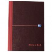 Black N Red Bk A5 96Lf Ft&S/C 100080414
