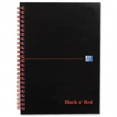 Black N Red Nbk A5 W/Bnd 50Lft 100080155