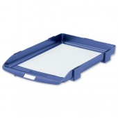 Rexel 35 Letter Tray Blue 25201