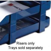 Rexel V/H Risers Pk5 Blue 25225