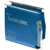 &C/File Extra Lat 30mm Susp.Fle Blu Pk25