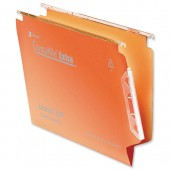 Rexel C/File Lat File Std Orange Pk50