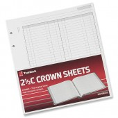 &Crown Shts D/Cash Ledger F3 2.5 C Pk100