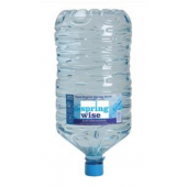 SpringWise (15 Liters) Pure Spring Water Bottle Recyclable for Office Water Cooler Systems Ref VDBW15
