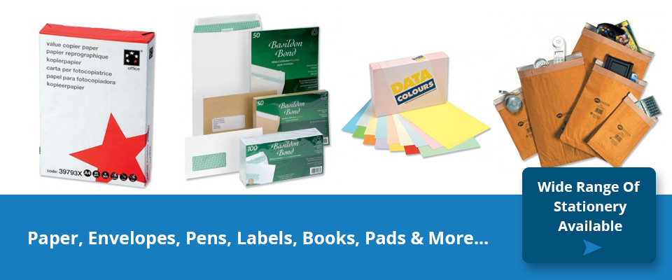 Easy Stationery Paper and Envelopes